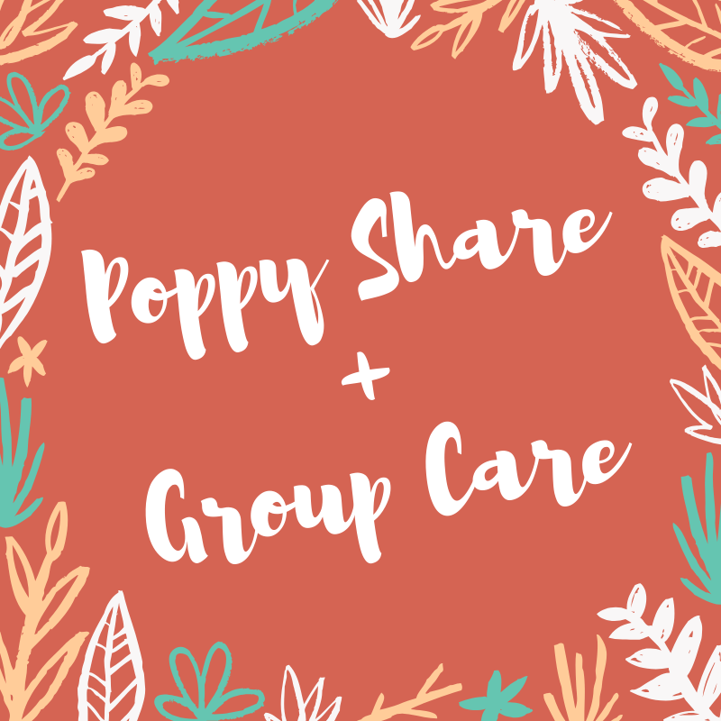 The more the merrier – check out Poppy Share and Group careoptions!